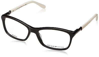 579f9eb78bc Amazon.com  Kate Spade Catrina Eyeglasses-0807 Black-51mm  Clothing