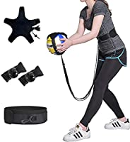 KIKIGOAL Volleyball Training Equipment Aid - Solo Practice for Serving and Arm Swings Trainer,Practice Overhan