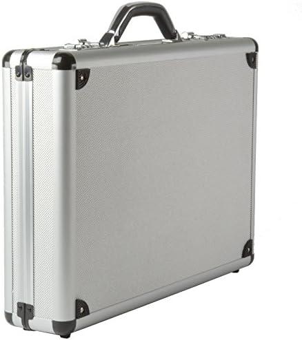 Alpine Swiss Aluminum Attache Briefcase