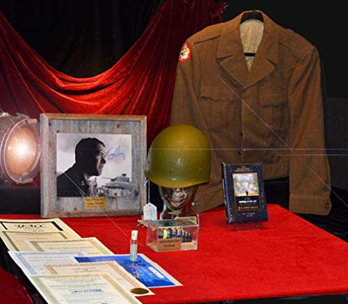 (Ultimate SAVING PRIVATE RYAN collection: Signed TOM HANKS Autograph, Prop HELMET, prop GRENADE, real D-DAY SAND from Omaha Beach, DVD COA MORE!)