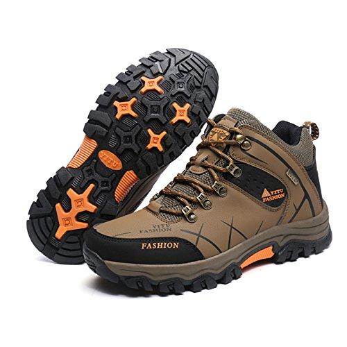 Boots Hiver Antidérapage Randonnée Baskets Adulte Sécurité Homme De Chnhira Kaki Chaussure Sports wZqAnSf
