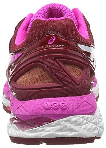 Zapatillas Mujer Glow 22 Asics Rojo Gel Ruby de 2601 Running Deep Pink White Kayano xZBFpwqA