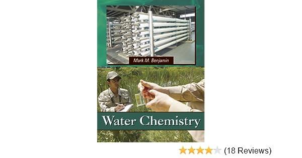 amazon com water chemistry 9781577666677 mark m benjamin books rh amazon com Brownian Motion Colligative Properties