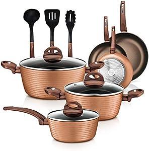 12-Piece Nonstick Kitchen Cookware Set
