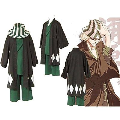 Mister Bear Bleach Urahara Kisuke and Hat Cosplay Costume Cosplay Costume: Clothing