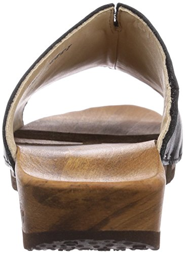 Woody Anja, Women's Mules Black (Schwarz 002)