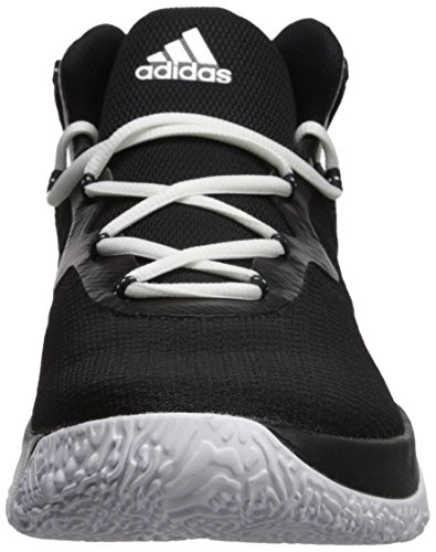 Image of the adidas Men's Shoes | Explosive Bounce Basketball, Black/Metallic Silver/White, (11 M US)