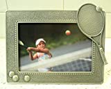 Frame, Pewter, Tennis, Liquidation, For pictures that are 5 L x 3.5 H, Deep discount