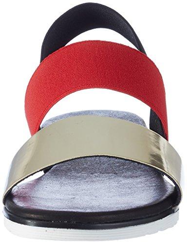 Pollini Damen 3246 Slingback Sandalen Mehrfarbig (Multicolor 90 A)