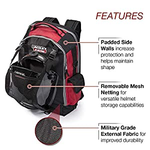Lincoln Electric Welders All-in-One Backpack | Tool, PPE and Electronics Storage | Adjustable External Storage Net | K3740-1 by Lincoln Electric
