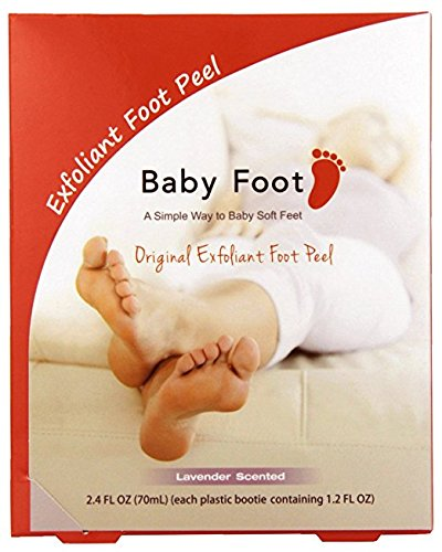 Baby Foot Exfoliatng Foot Peel – Fits Up To Mens Size 13 2.4 Ounce…