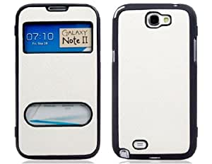 Wrui Protective TPU Rubber Case for Samsung Galaxy Note 2 (White)
