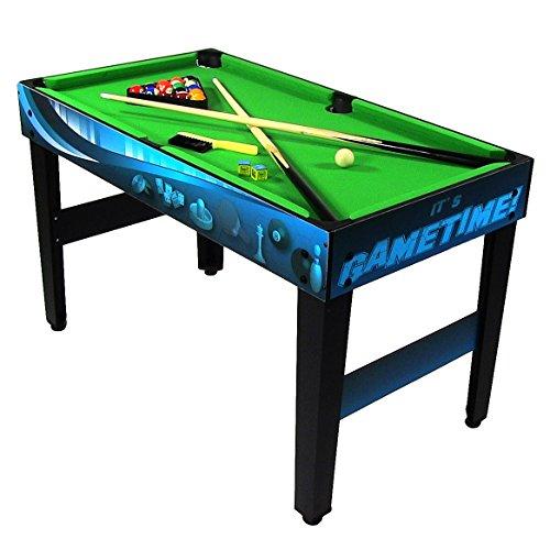 Sunnydaze 10 Combination Multi Game Table With Billiards
