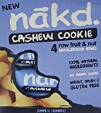 Nakd Bars Cashew Cookie 4 x 35 g (Pack of 3, Total 12 Bars)