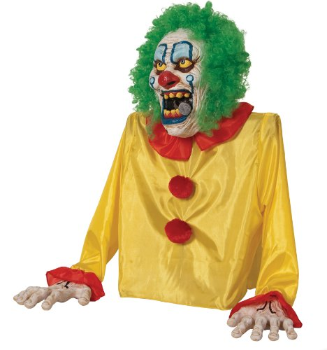 SMOKEY THE CLOWN ANIMATED FOG PROP Creepy Party Haunted House Decor Halloween MR124194 by Mario Chiodo