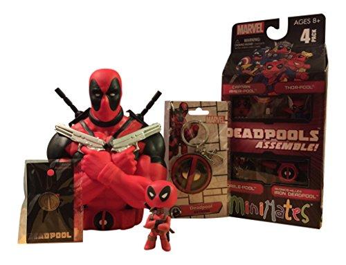 DEADPOOL Diamond Select Toys Marvel Minimates Deadpools Assemble Box Set 4 Pack