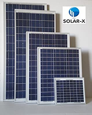 Replacement 50 Watt Solar Panel by Solar-X - Can be used to replace the Kyocera Model KC50T - Special Order - May take several weeks to ship
