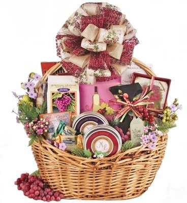 Holiday Taste of Excellence Gourmet Gift Basket by Organic Stores