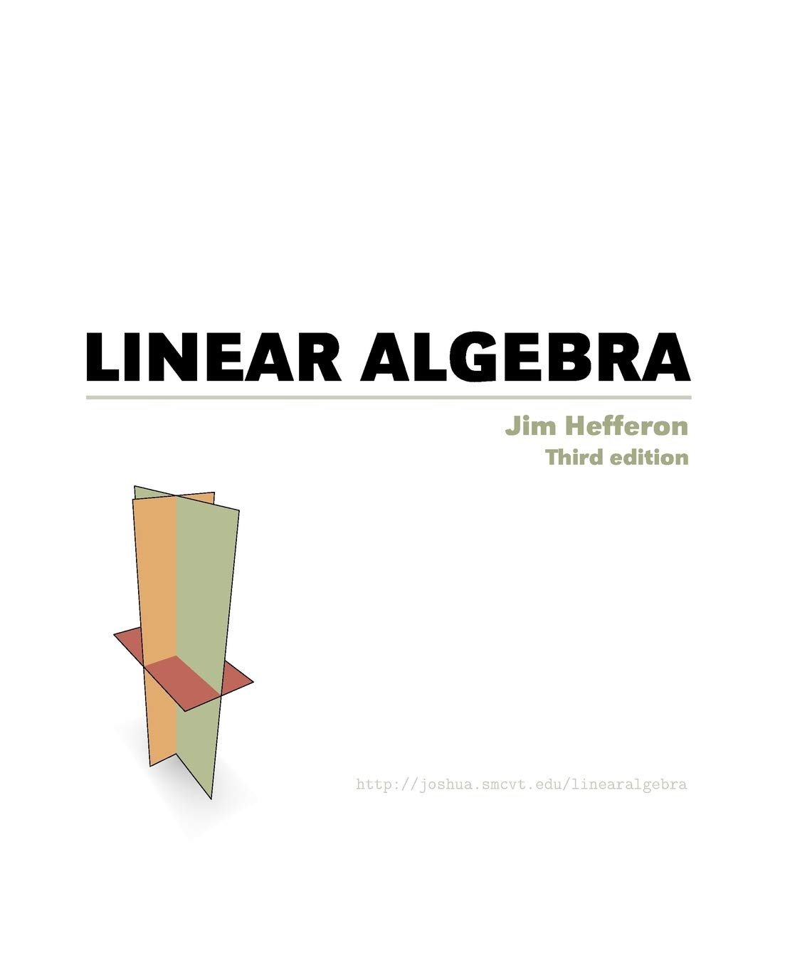 Linear Algebra Hefferon Jim 9781944325039 Amazon Com Books