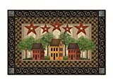 Cheap Saltbox Houses MatMates Doormat – 18″ x 30 – Tray Sold Separately