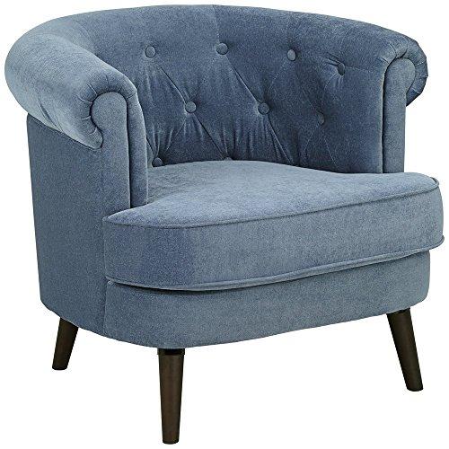 Sauder 418931 Elwood Accent Chair, Blue, Medium