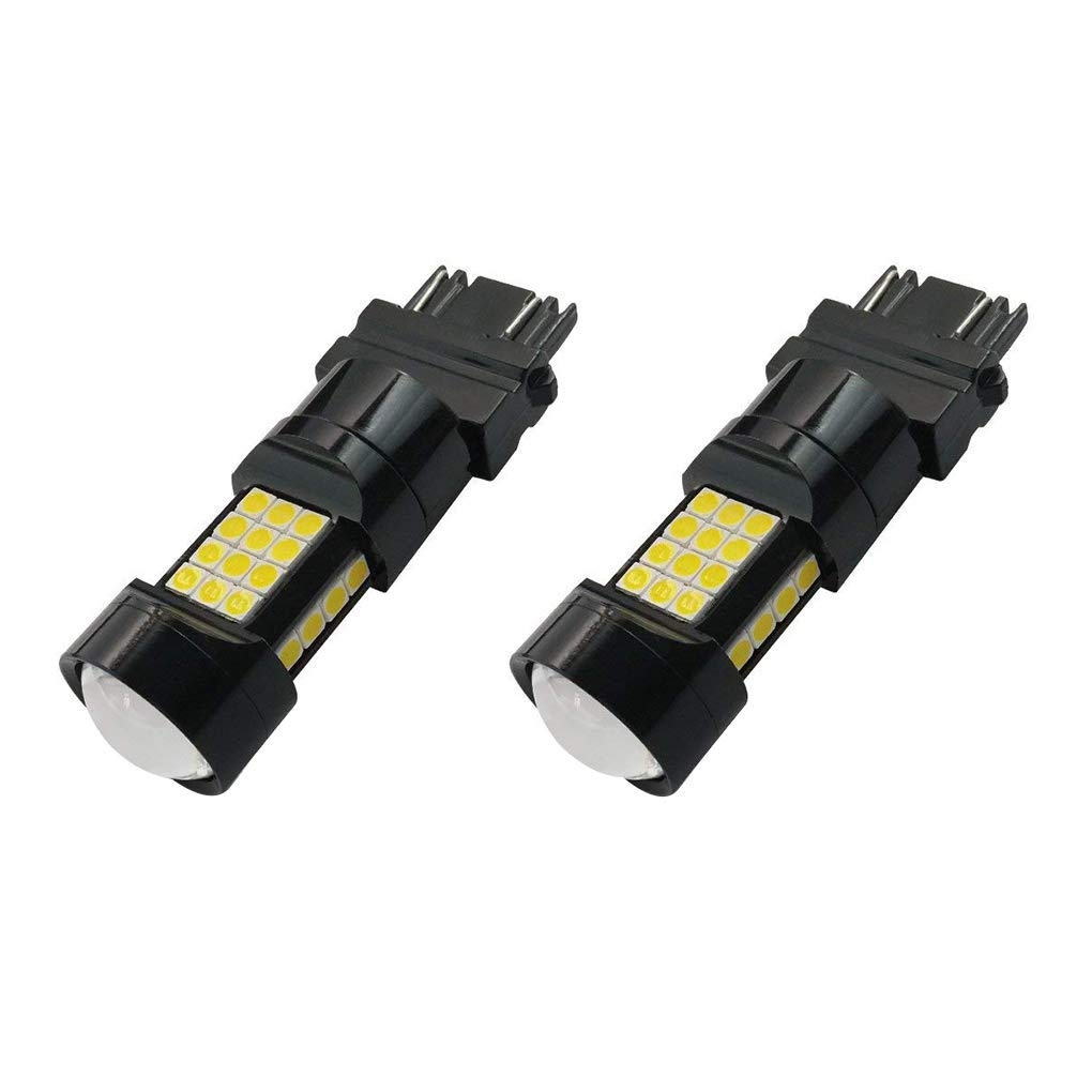 Bobury 2PCS Car 3157 3030 36SMD Extremely Bright LED Bulb Car Tail Driving Light Running Backup Reverse Bulb White Light
