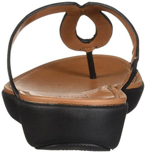 Flip Black FitFlop Strata Leather Flops Women's TxBEw6
