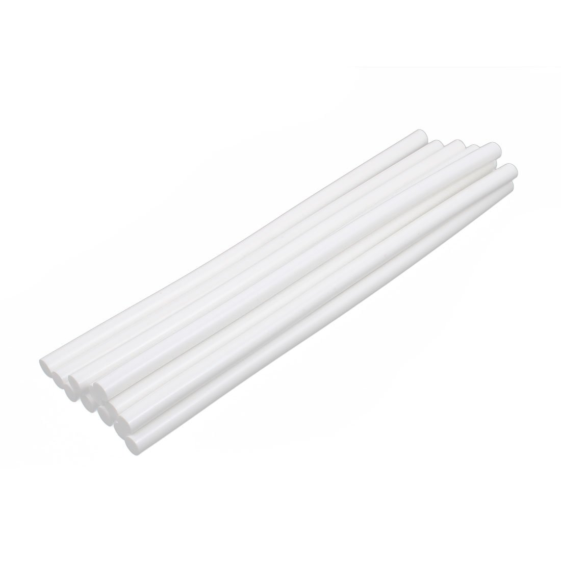 uxcell 12 Pcs 11mm x 300mm Hot Melt Glue Adhesive Stick Oyster White for Electric Tool Heating Gun