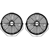 Air King 14 1/20 HP 3-Speed Totally Enclosed Pivoting Multi-Mount Fan (2 Pack)