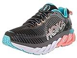 Hoka One One Womens Arahi Black/Peach Amber Running Shoe - 6.5 M