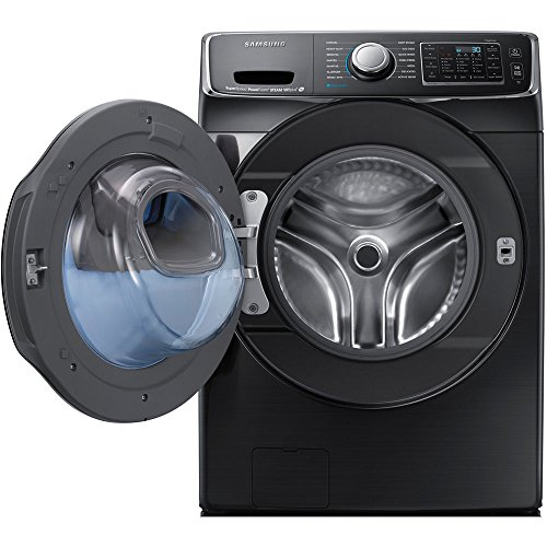 Washers and dryers samsung 4 8 cu ft front load washer and 7 5 cu - Bundle Black Stainless Steel Samsung 5 Cu Ft Front Load