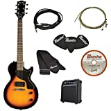Maestro by Gibson Electric Guitar Starter Package, Vintage Sunburst