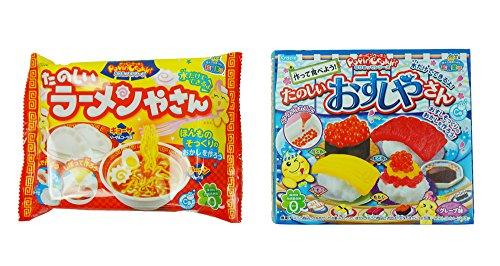 Price comparison product image Kracie funny Ramen shop Gyoza Popin' Cookin' DIY candy 0.88 oz + Popin' Cookin' Happy Sushi House 1 oz