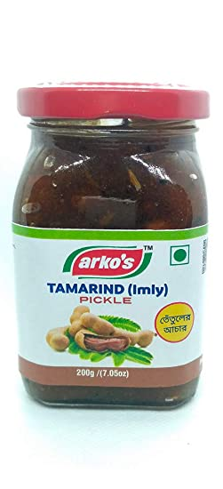 ARKOS Homemade Tamarind (Imly) Pickle , 200gm