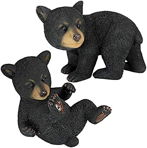 Design Toscano QM92592800 Roly-Poly Bear Cub Statue