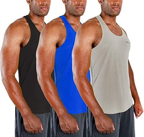 DEVOPS Boys 2 Pack Baselayer Workout Tank Top Sleeveless