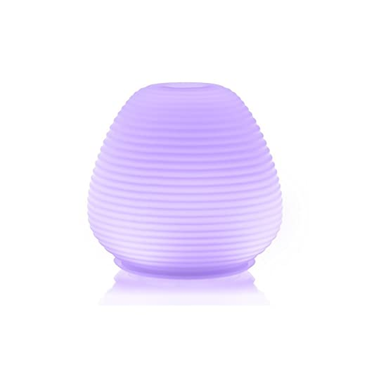 ZAQ Paradise Glass Litemist Aromatherapy Essential Oil Diffuser, 200ml