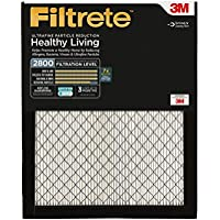 Filtrete MPR 2800 20 x 25 x 1 Ultrafine Particle Reduction AC Furnace Air Filter, 2-Pack