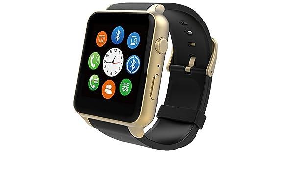 Amazon.com: DF GT88 Bluetooth Smart Watch Waterproof ...