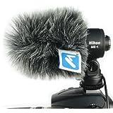 Micover Slipover Windscreen for Nikon ME-1 (Stereo Microphone)