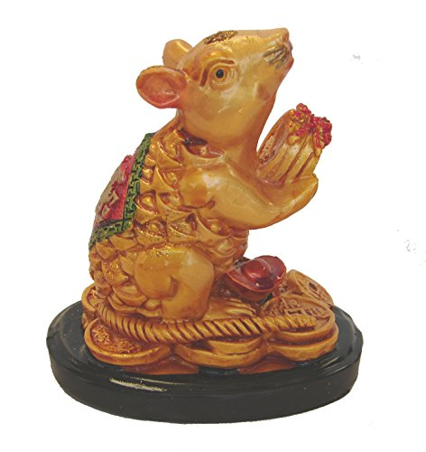 Feng Shui Import Chinese Zodiac Rat Statue