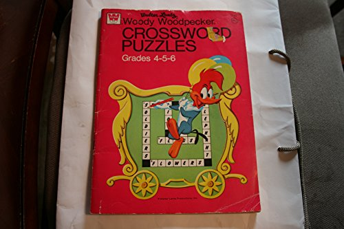 Walter Lantz Woody Woodpecker Crossword Puzzles