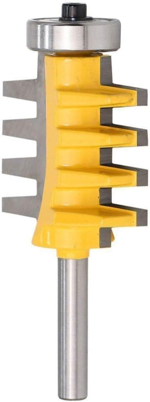 Meccion Fraise /à doigt r/éversible en carbure de 8 mm de tige Ciseau Fraise /à d/écouper professionnel pour le travail du bois