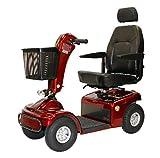 Shoprider - Sprinter XL4 - Heavy Duty Scooter - 4-Wheel - Burgundy