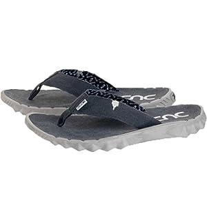Dude Shoes Sava Red Canvas Flip Flop 44/5