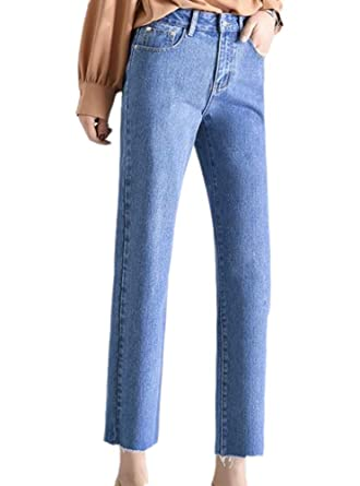 Domorebest Boyfriend Denim Jeans para Mujeres  Amazon.es  Ropa y accesorios 439d939a00e