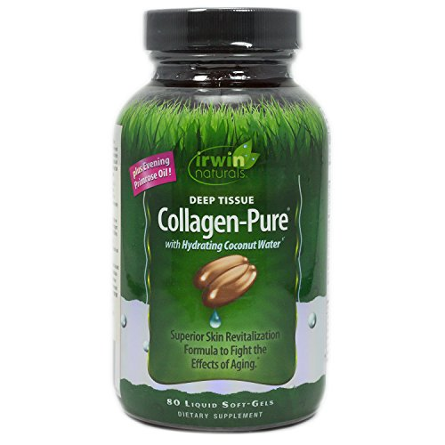 Soft Collagen (Irwin Naturals Deep Tissue Collagen Pure Soft Gel, 80 Count)