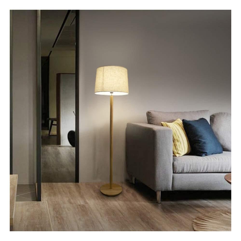 B.YDCM フロアランプカバーリビングルームの寝室スタディディスクウッド装飾フロアランプ垂直フロアランプ リネン - (色 フロアスタンド 8563 (色 : 白) B07QXCMGL7 B07QXCMGL7 リネン リネン, タカシミズマチ:91afe3ef --- gallery-rugdoll.com
