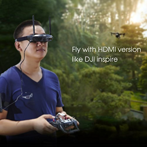 Top 10 Best FPV Quadcopter Racing Goggles  Glasses Reviews 2018-2019