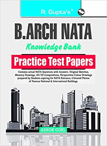 B  Arch  NATA Knowledge Bank Practice Test Papers: Amazon in